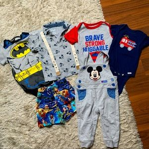 Baby/infant clothing lot size 12 months